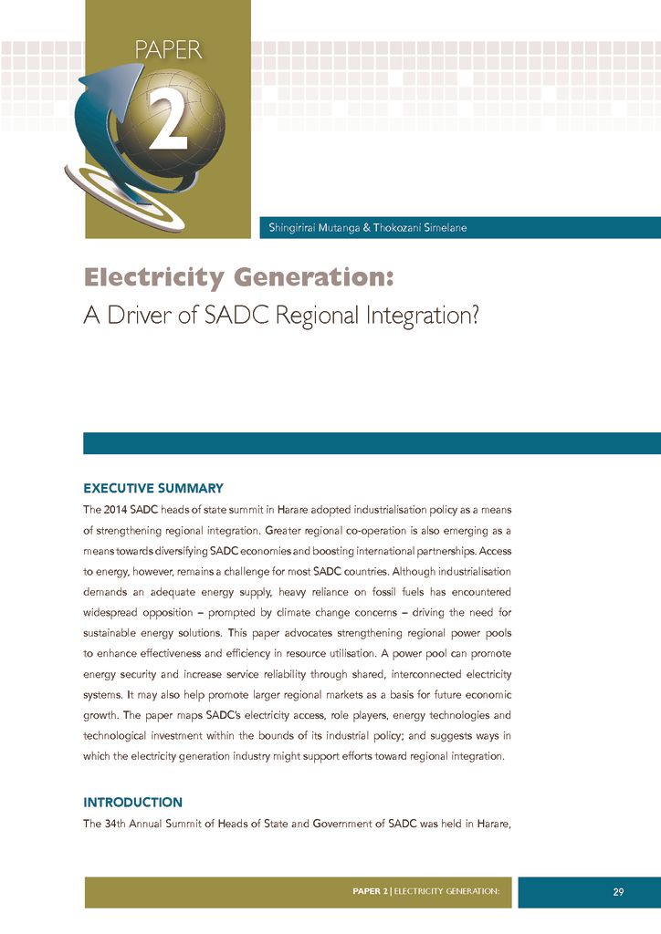 thumbnail of Electricity-Generation-A-Driver-of-SADC-Regional-Integration