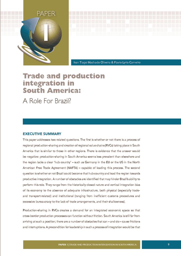 thumbnail of Trade-and-Production-Integration-in-South-America