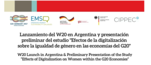 Effects of Digitalization on Women within the G20 Economies