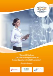 "Executive Summary of the Study ""The Effects of Digitalisation on Gender Equality in the G20 Economies"" Released"