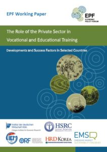 Joint Emerging Economies Study on the Role of the Private Sector in Vocational and Educational Training