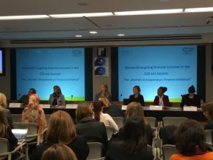 Women20 and EMSD co-organize side event to the WBG/IMF Annual Meeting
