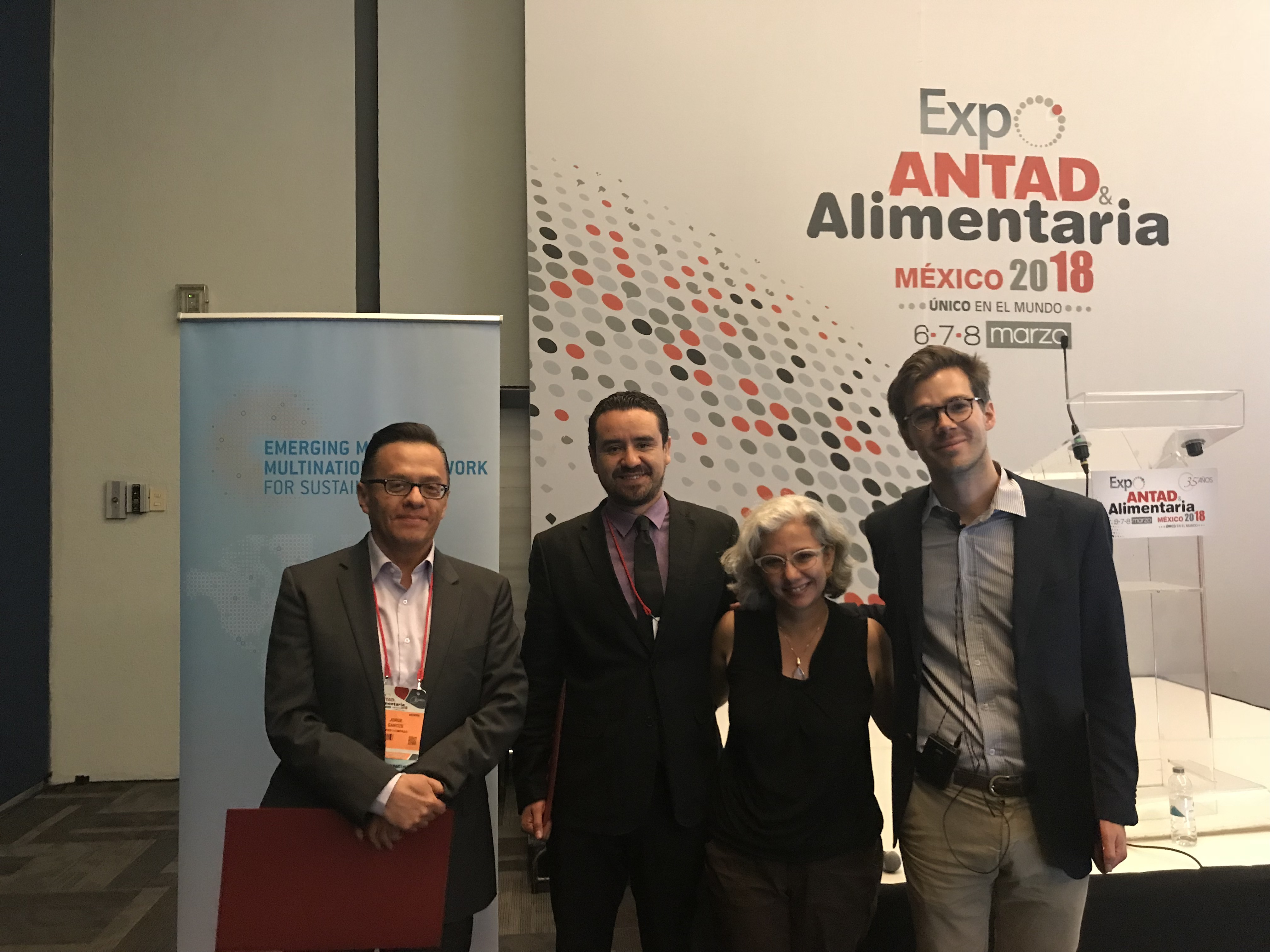 Presentation of the Sustainable Value Chains Guidelines at ExpoANTAD | 2018