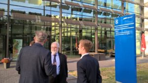 Visit of the Centre for Photovoltaics and Renewable Energies in Berlin-Adlershof