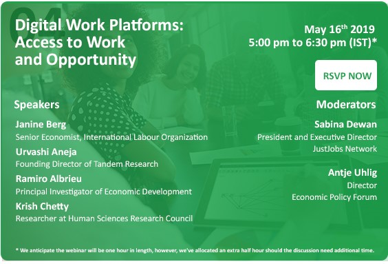 Webinar Series About Our Changing World of Work