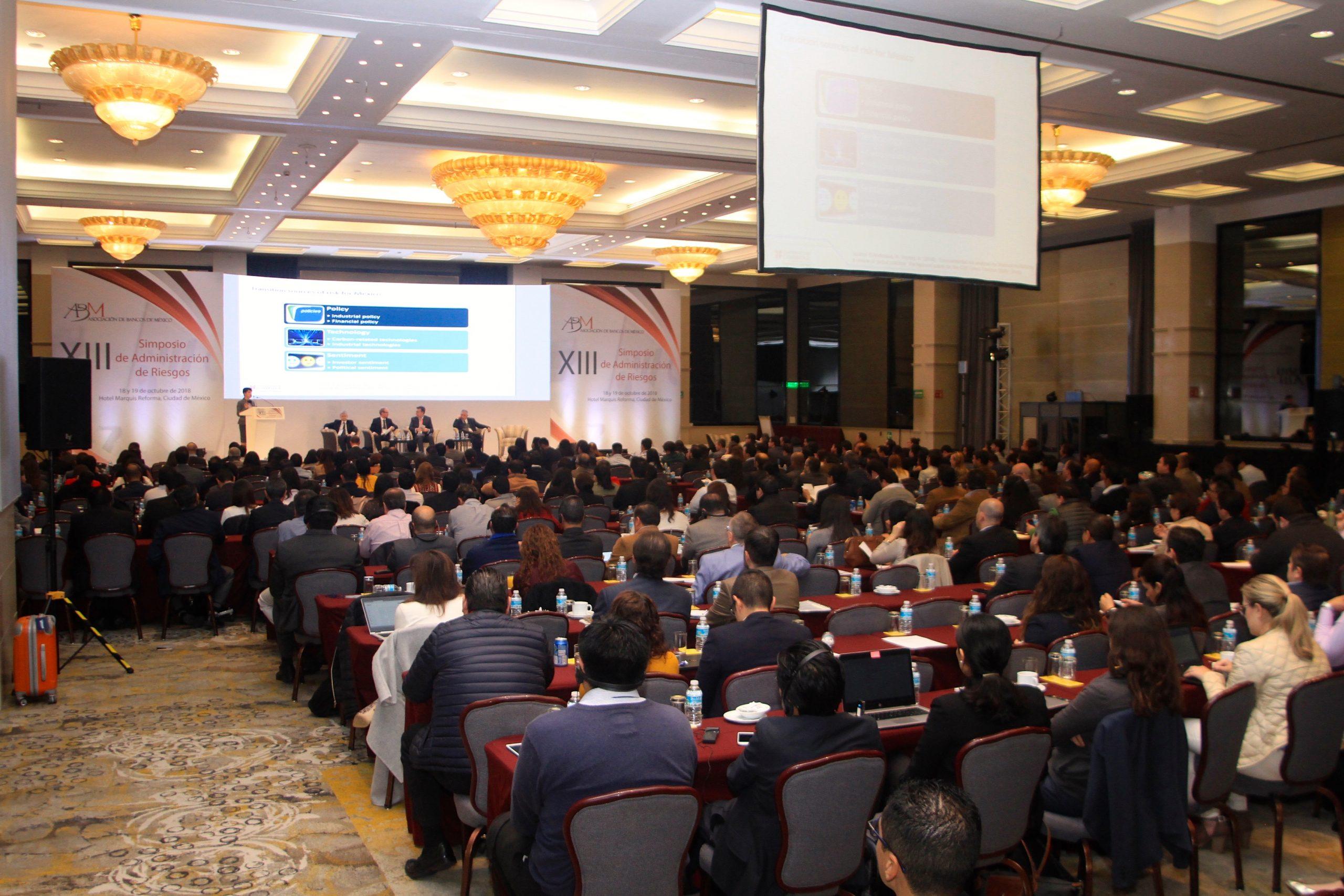 Panel discussion at Asociación de Bancos de México (ABM)