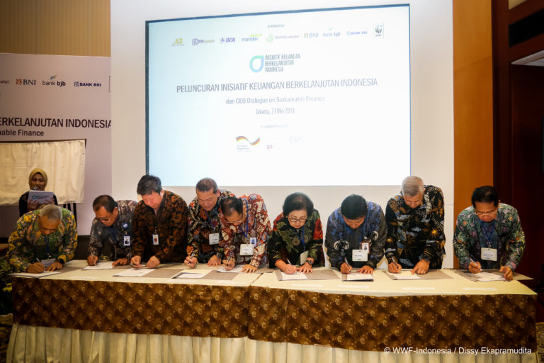 "Successful Launch of  ""Indonesia Sustainable Finance Initiative"""